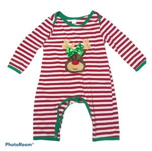 NWT Baby Bear Boutique Christmas Pajamas Boy Girl Unisex Red White Green 2T-3T